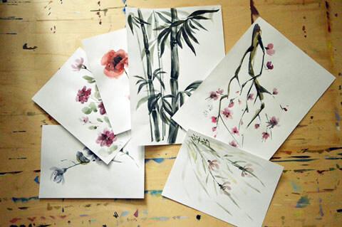 Традиционной китайская живопись