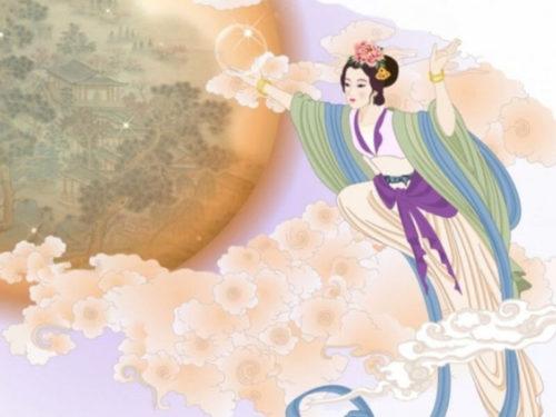 Богиня Чан Э