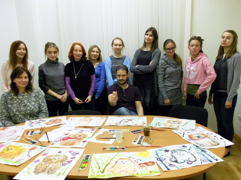 Мастер-класс по традиционной китайской живописи
