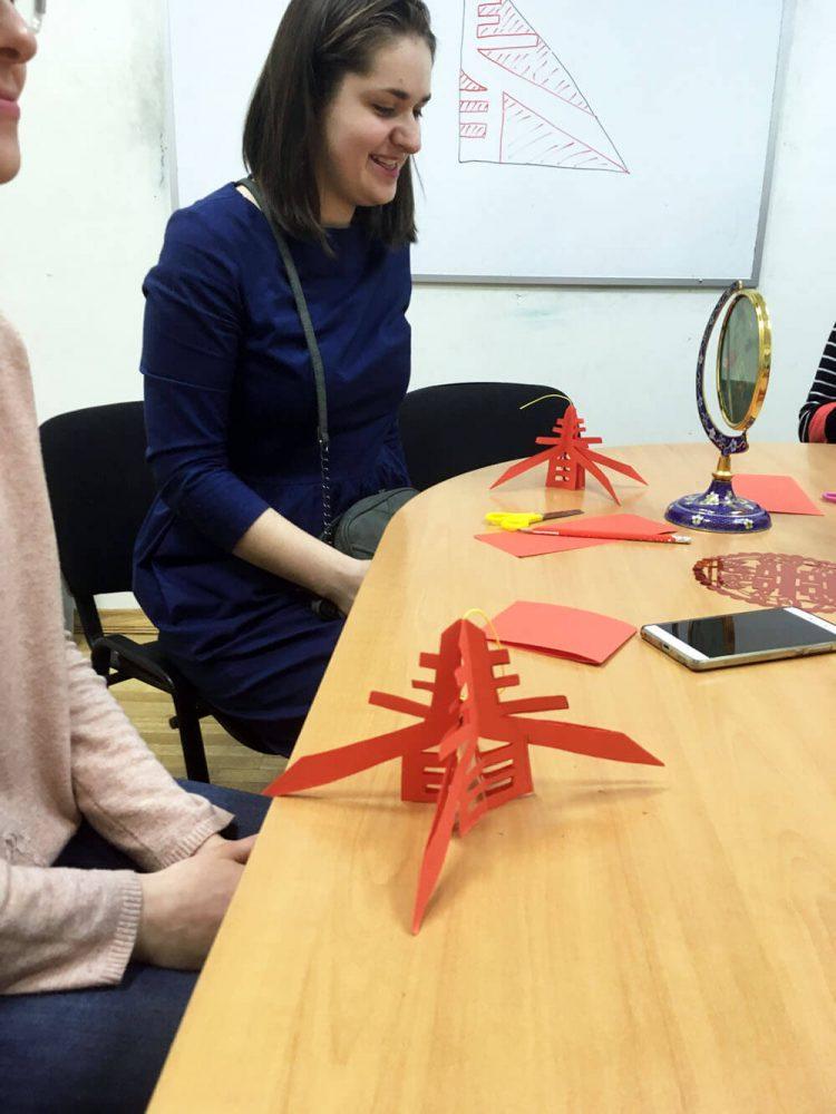 Мастер-класс по декоративно-прикладному искусству современного Китая