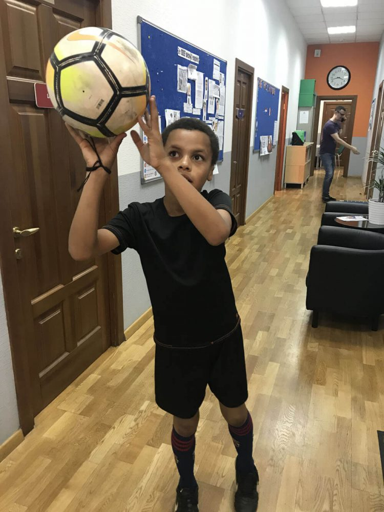 Селфи с мячом