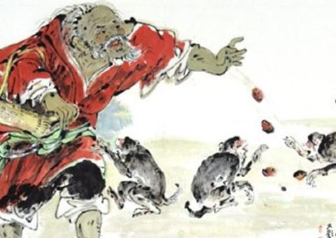 Наивные обезьянки и старец